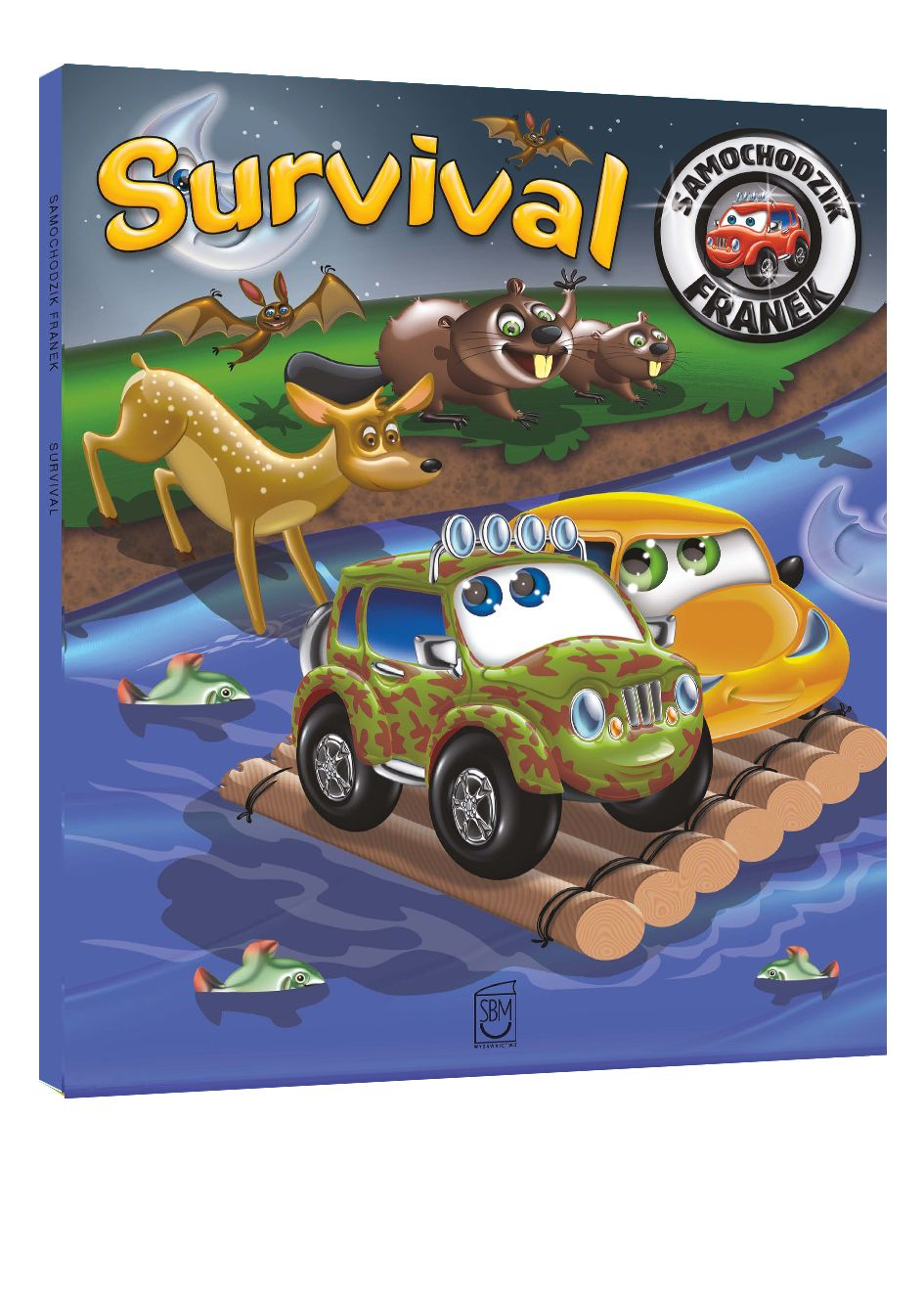 Samochodzik Franek. Survival