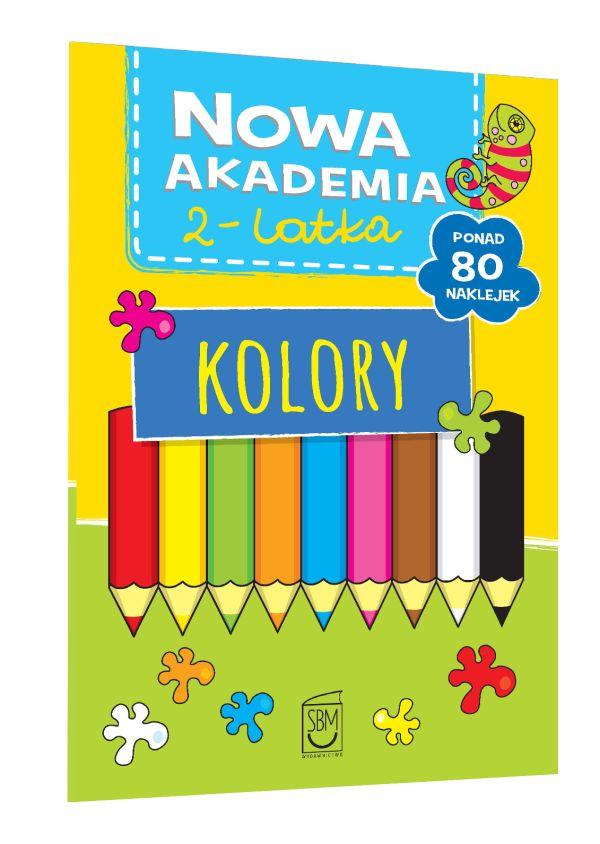 Nowa Akademia 2- latka. Kolory
