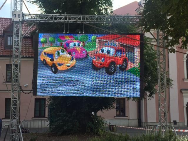 Samochodzik Franek. Wesołe miasteczko. Festiwal Ulica Literacka, Dni Zamościa.
