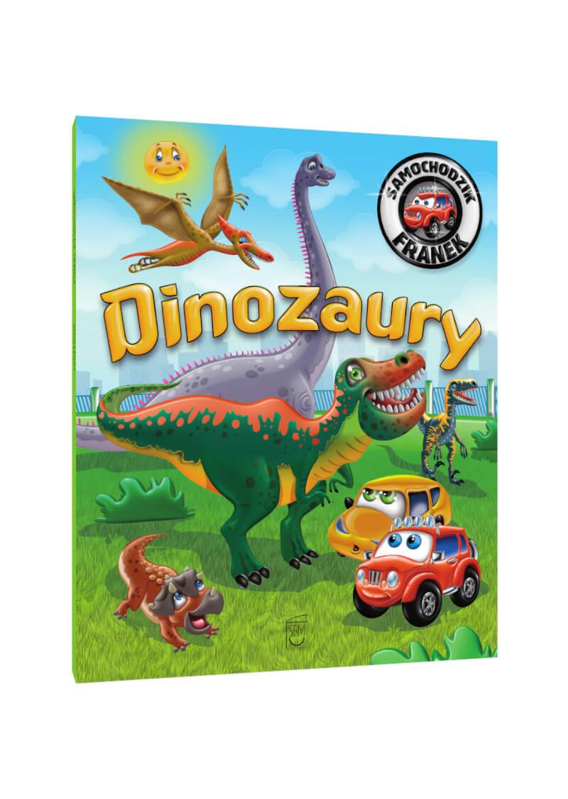 Samochodzik Franek. Dinozaury