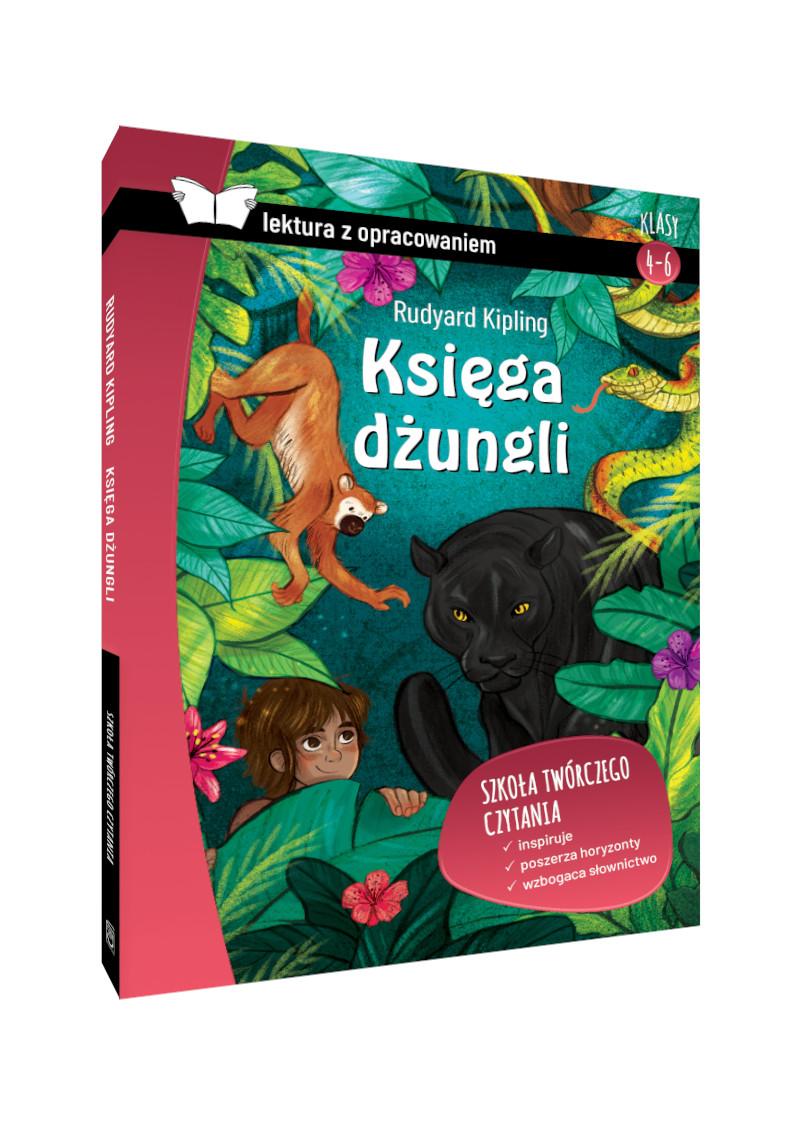 Księga dżungli. Z opracowaniem