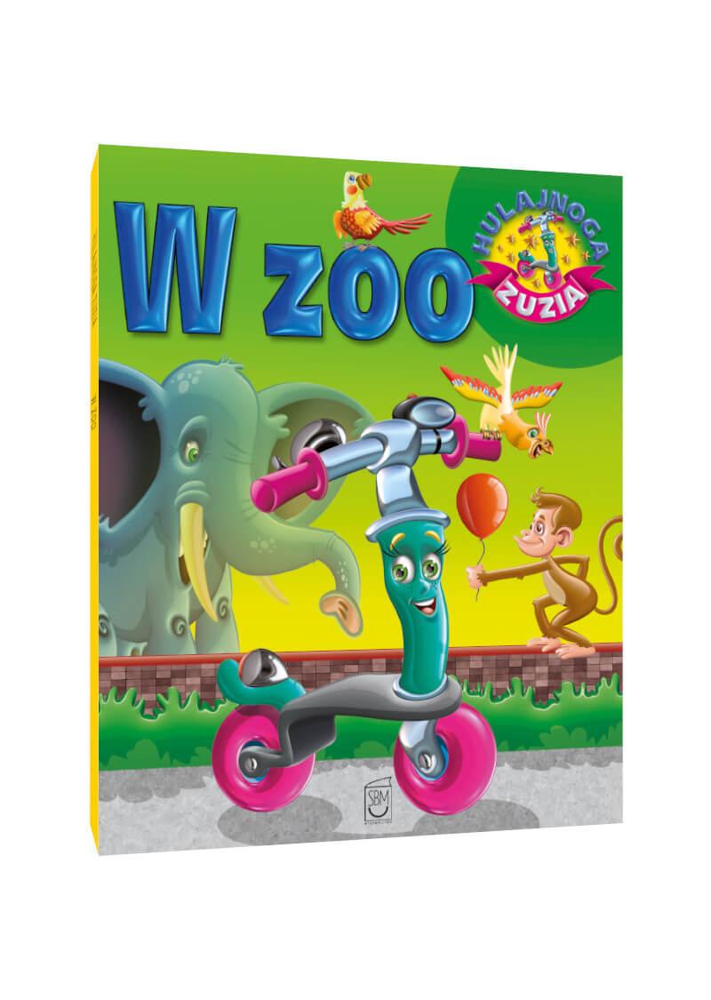 Hulajnoga Zuzia. W zoo